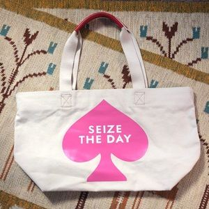 Kate Spade Seize the Day Canvas Tote